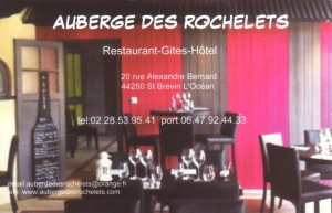 AUBERGE DES ROCHELETS